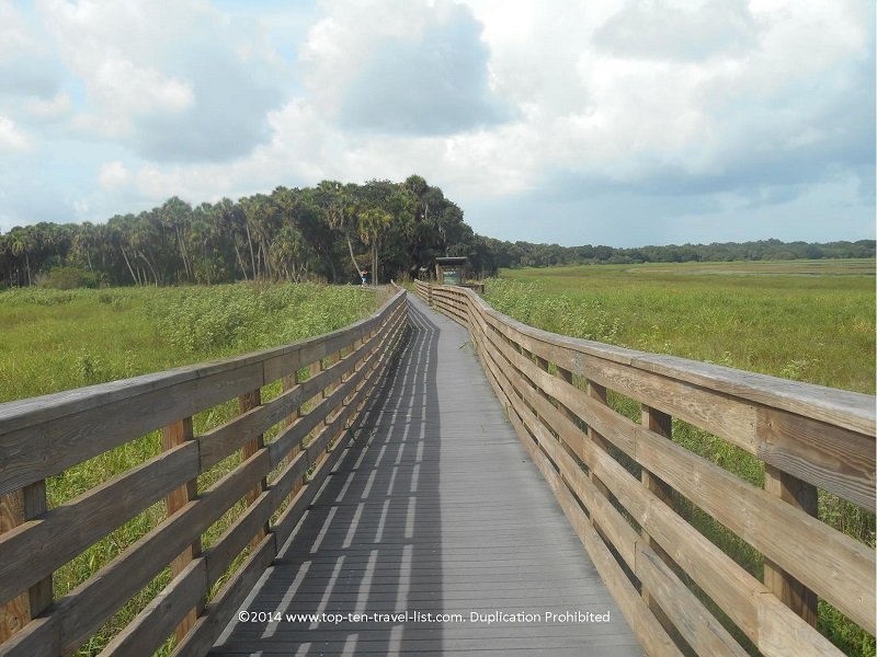 Birdwalk at Myakka River State Park in Sarasota, Florida