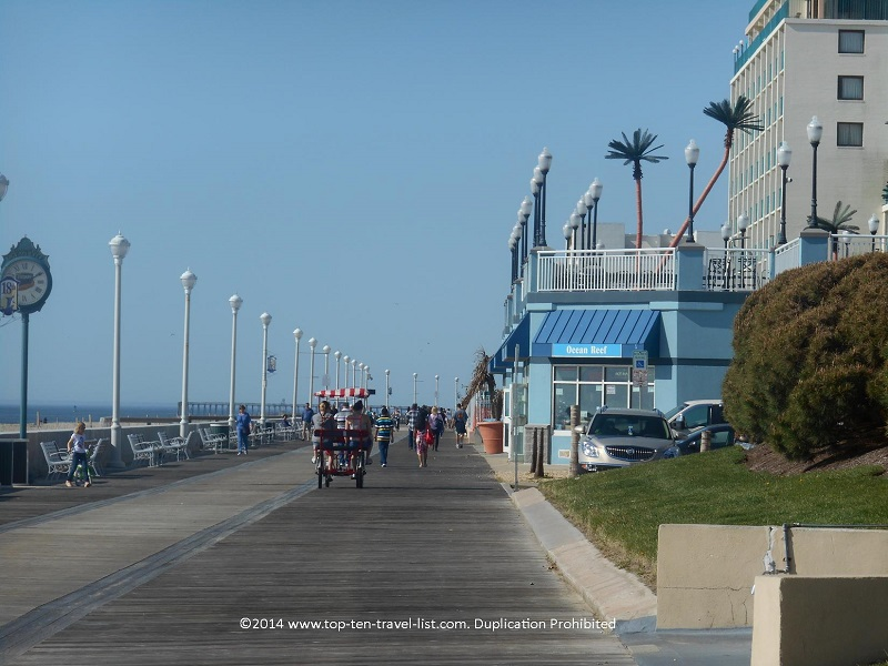 Boardwalk in Ocean City, Maryland