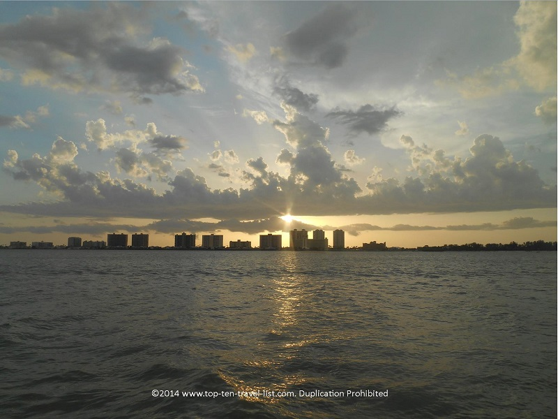 Sunset cruise in Clearwater Florida - Tropics Boat Tours