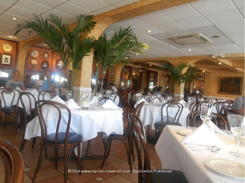 Columbia Restaurant Sarasota indoor dining room