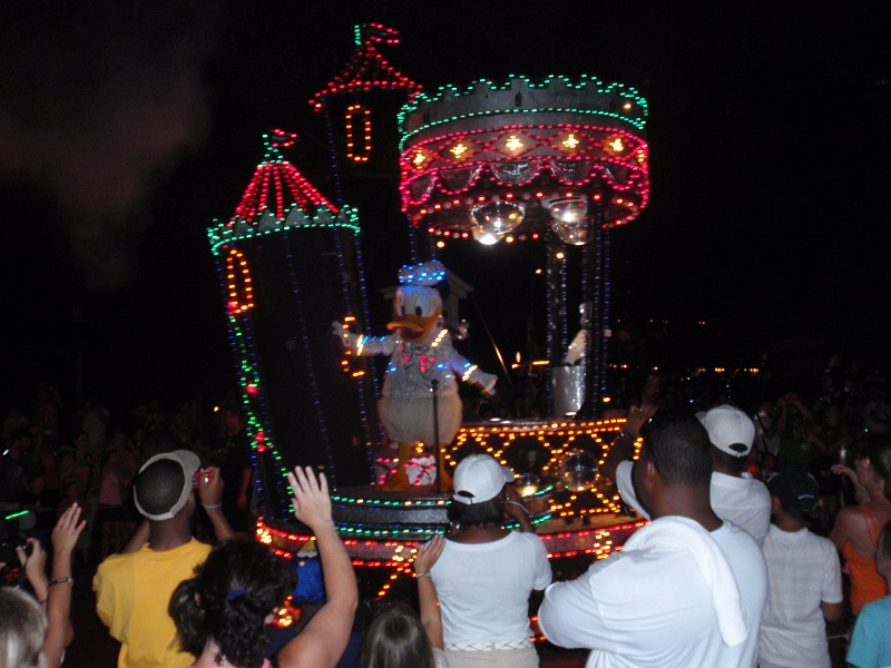 Main Street Electric Parade at Walt Disney World