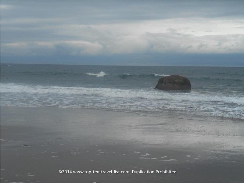 Gorgeous views at Scarsborough Town Beach in Narragansett, Rhode Island
