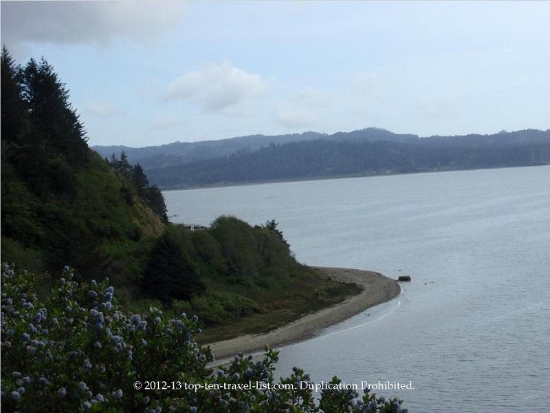 Beautiful views along California's Hwy 101