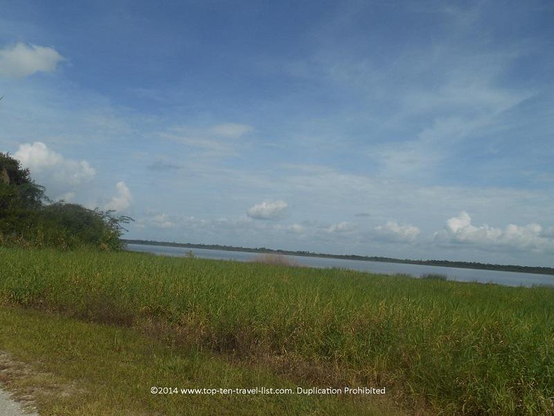 Views of the beautiful Upper Myakka Lake in Sarasota, Florida