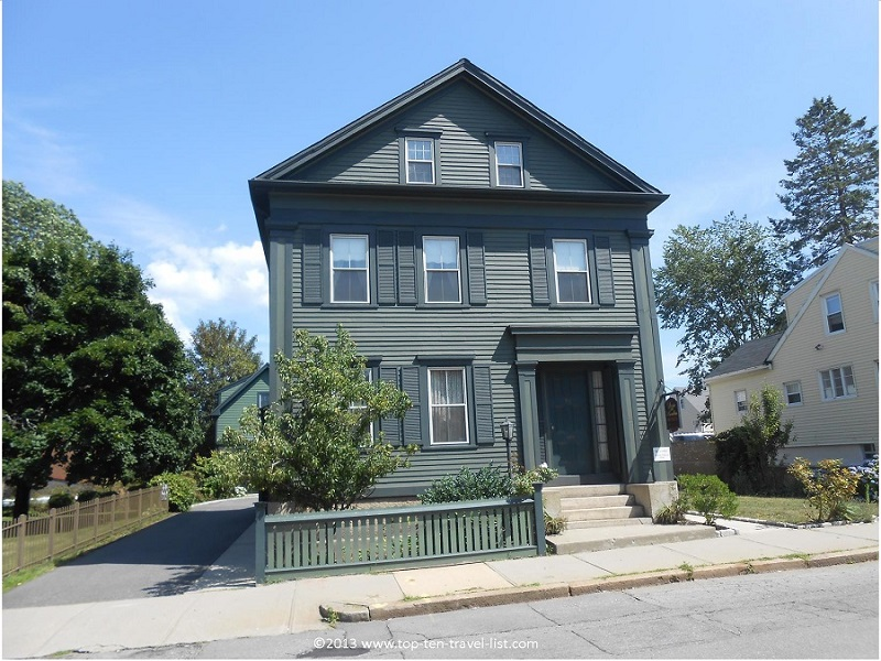 Lizzie Borden house - Fall River, Massachusetts
