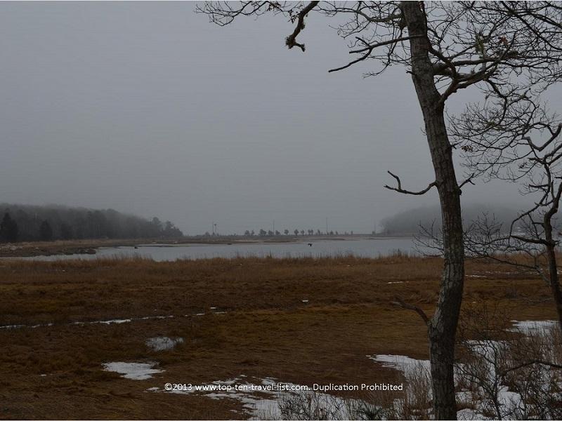 Marsh views at Great Neck Wildlife Refuge in Massachusetts
