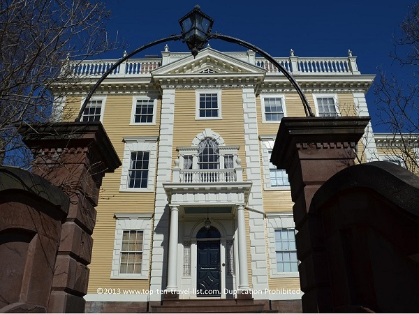 Nightingale Brown House in Providence, Rhode Island