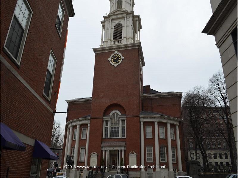 Park Street Church in Boston, Massachusetts