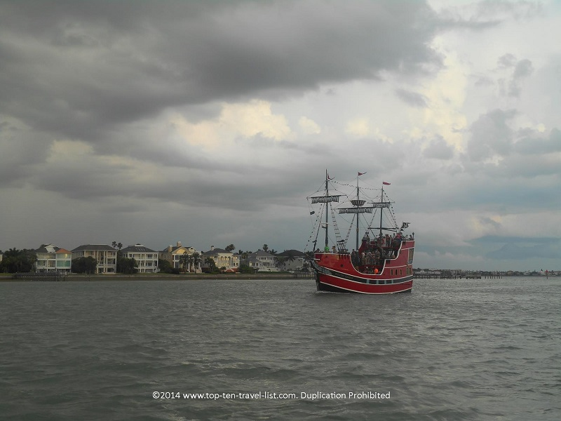 Pirate themed cruise in Clearwater, Florida