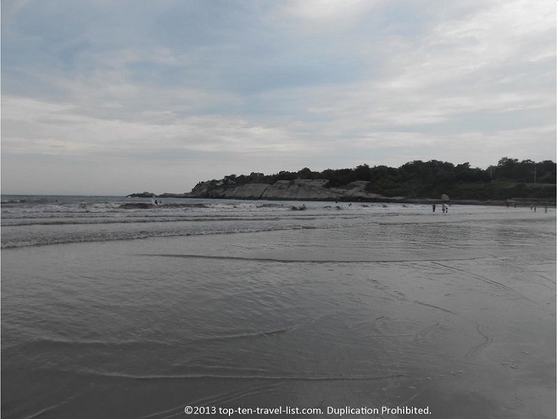 Second Beach in Middletown, Rhode Island