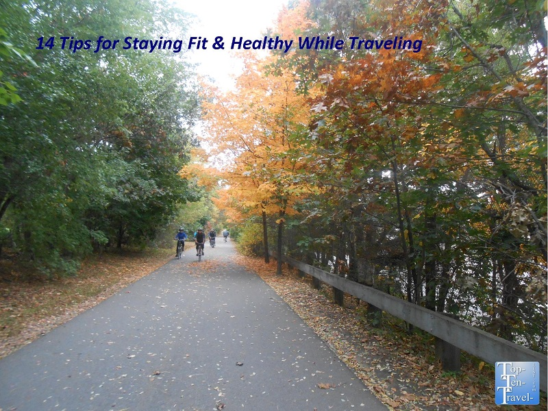 The beautiful Minuteman Bikeway in Massachusetts