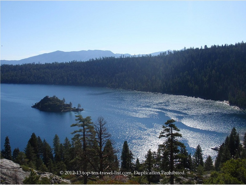 Views of Emerald Bay State Park in gorgeous Lake Tahoe