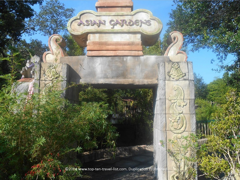 Asian Gardens at Tampa's Lowry Park Zoo