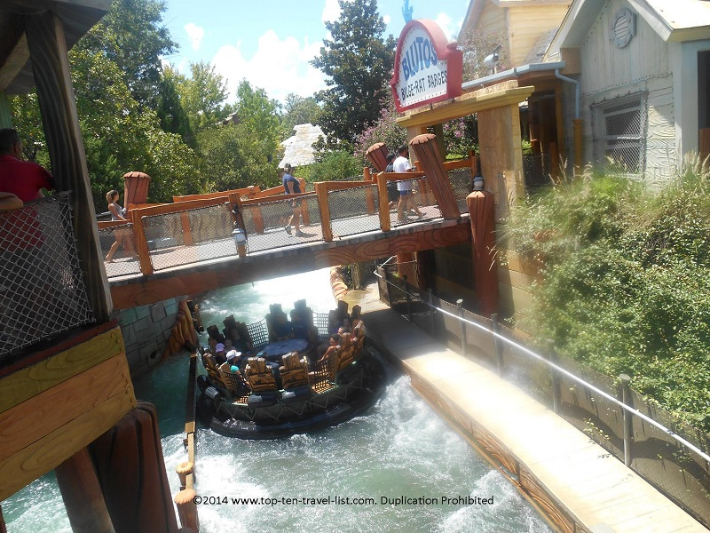 Popeye and Bluto's Bilge Rat Barges at Islands of Adventure - Orlando, Florida