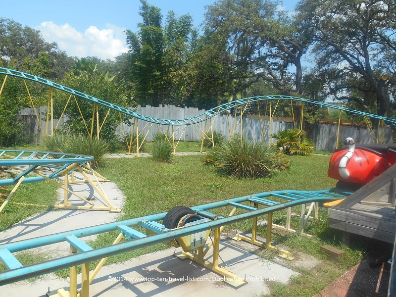 Rollercoaster at Tampa's Lowry Park Zoo