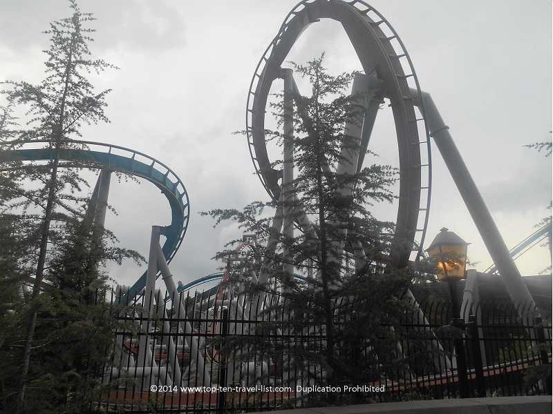 Dragon Challenge at Universal's Islands of Adventure in Orlando, Florida