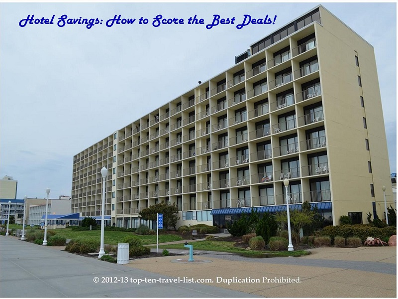 Best Western Plus Oceanfront in Virginia Beach - a great deal!