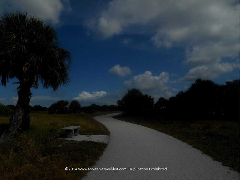 Beautiful day on Fort De Soto Park's Recreation Trail - St. Petersburg, Florida