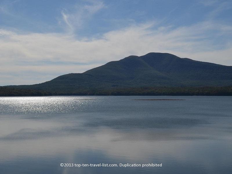 The Ashokan Reservoir in New York's gorgeous Catskills region