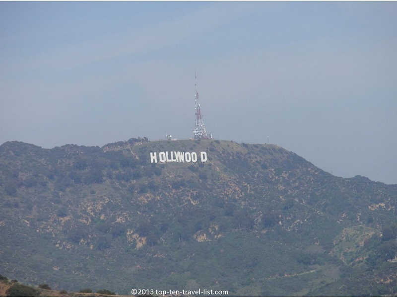 Views of the Hollywood sign from L.A.'s Runyon Canyon hike