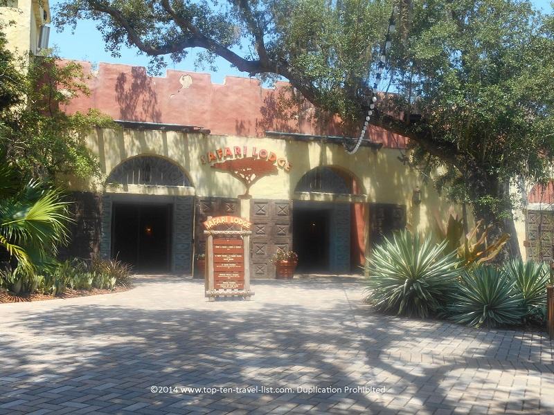 Safari Lodge at Tampa's Lowry Park Zoo