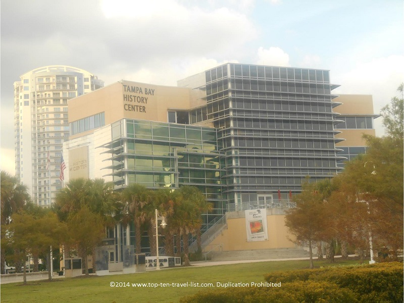 Tampa Bay History Center - downtown Tampa, Florida