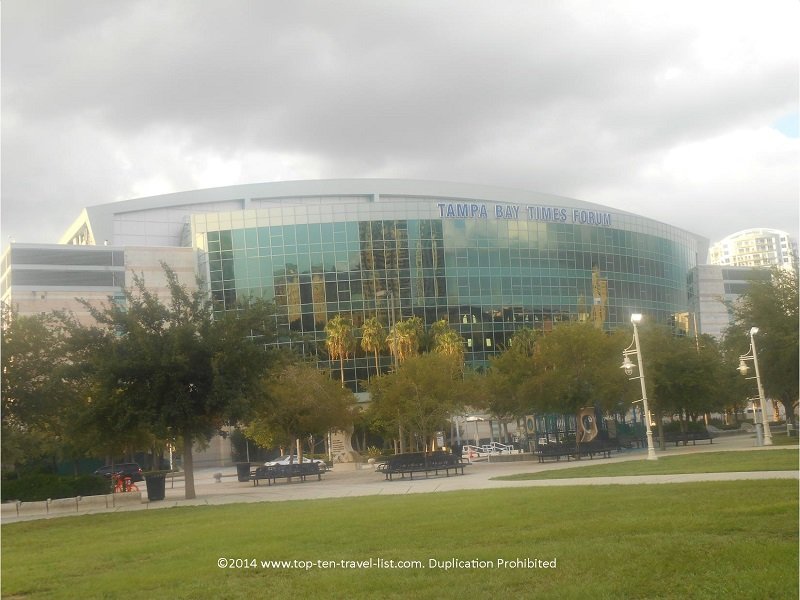 Tampa Bay Times Forum - downtown Tampa, Florida