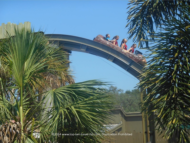 Water ride at Tampa's Lowry Park Zoo