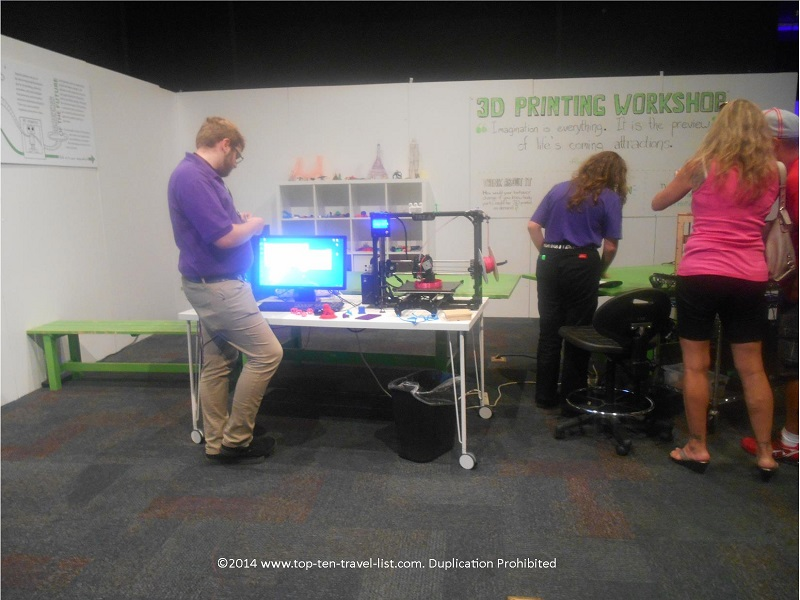 3D Printing the Future at MOSI Tampa, Florida