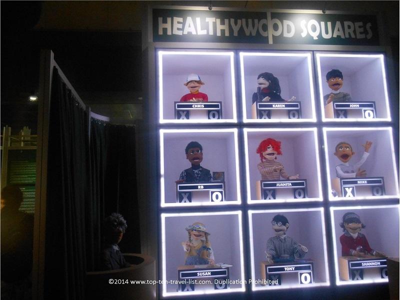 Healthywood Squares at MOSI Tampa, Florida