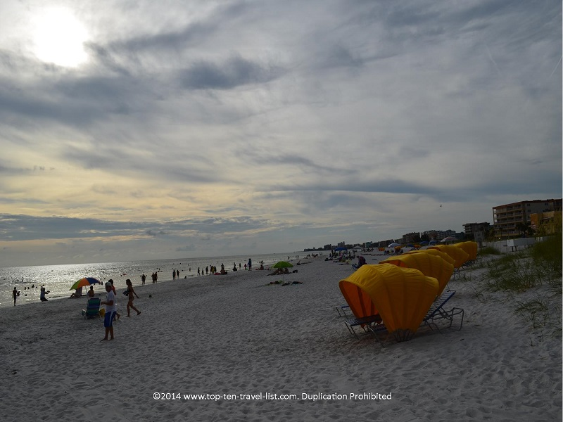 Cabana rentals at Madeira Beach, Florida