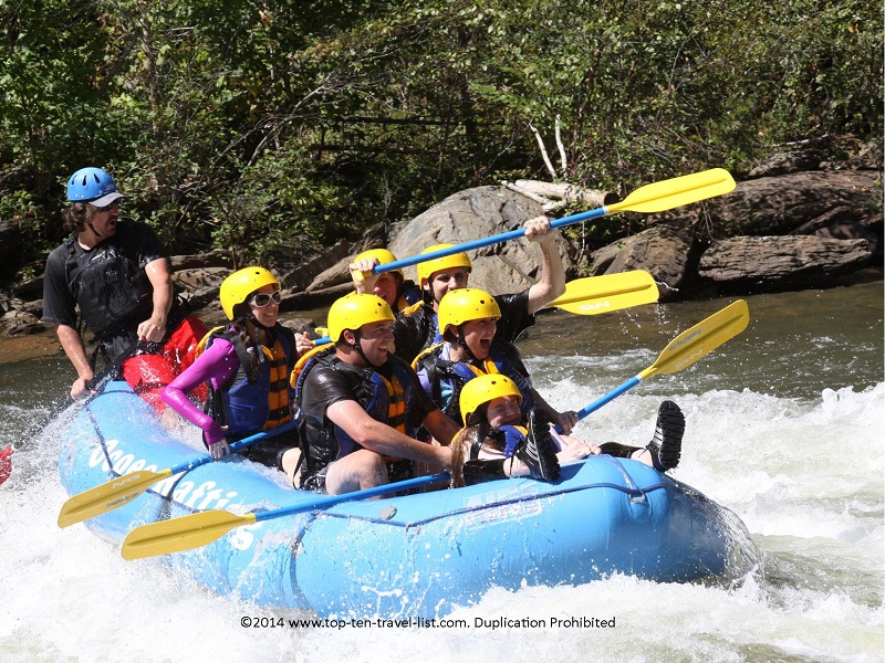 Whitewater rafting on the Ocoee River in Tennessee with Wildwater Ocoee