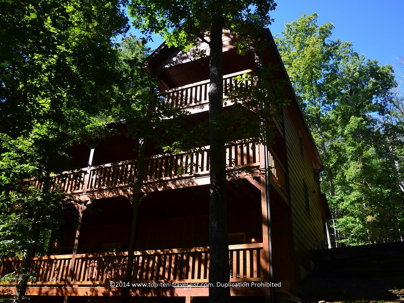Decks of Appalachian Promise - Mount Laurel Cabin Rentals - Blue Ridge, Georgia