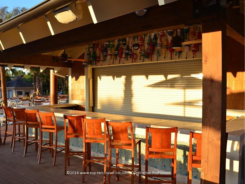 Poolside beach bar at Omni Hilton Head Oceanfront Resort - Hilton Head Island, South Carolina