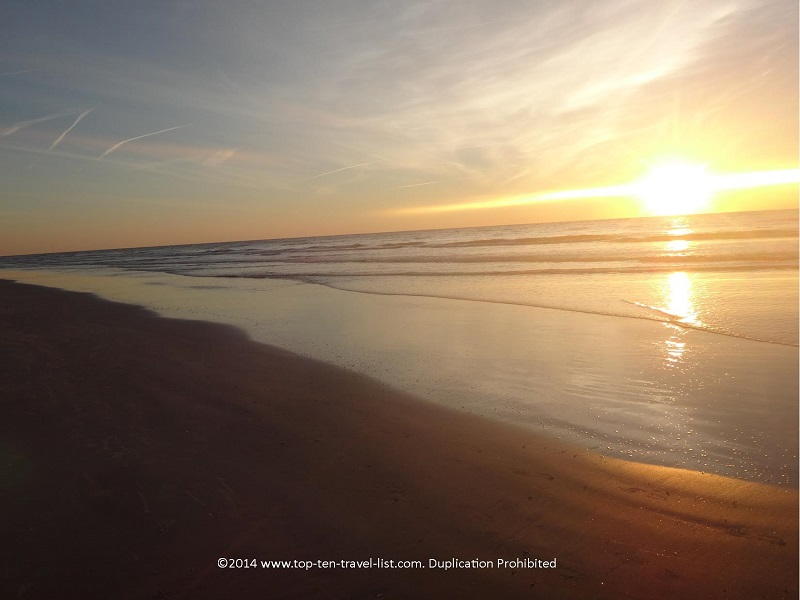 A gorgeous sunrise on Hilton Head Island, SC - Omni Hilton Head Oceanfront Resort