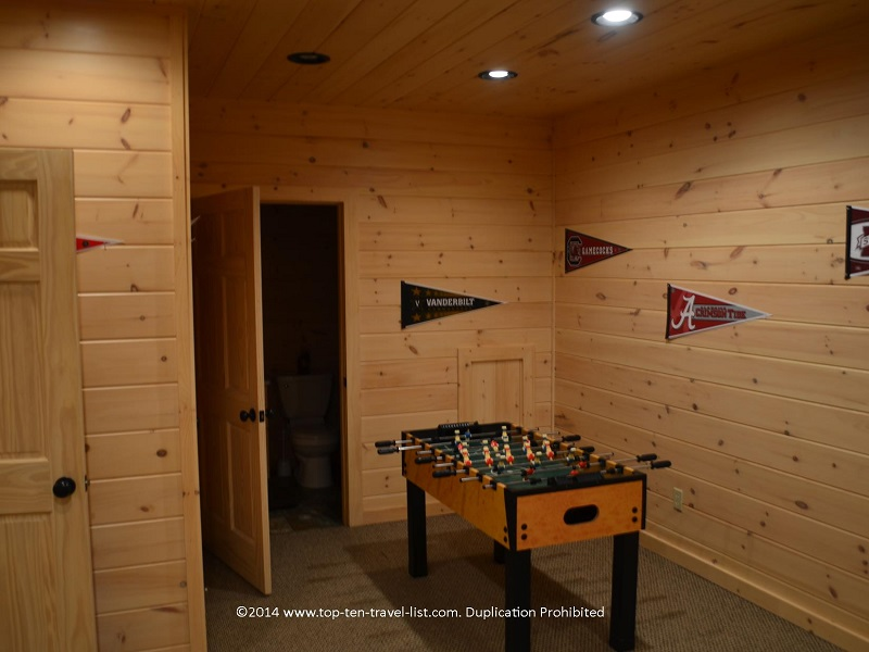 Foosball table - Appalachian Promise - Mount Laurel Cabin Rentals - Blue Ridge, Georgia