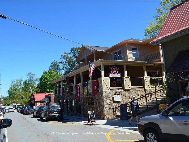 Fightingtown Tavern in Blue Ridge, Georgia