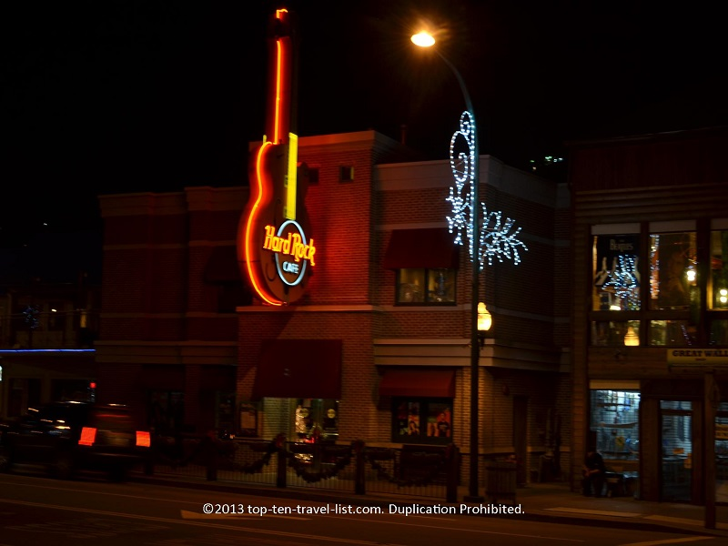 Hard Rock Cafe Galinburg - Smoky Mountains