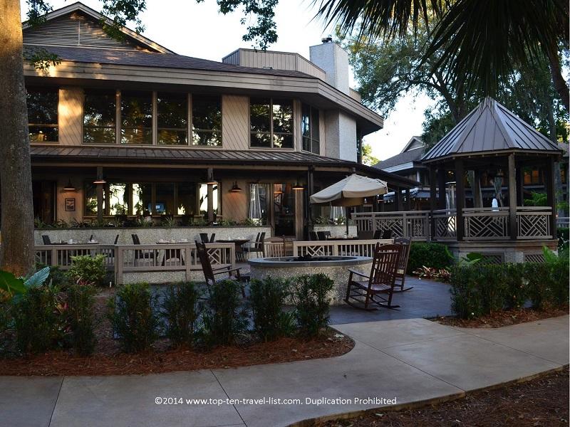 HH Prime outdoor patio -Omni Hilton Head Oceanfront Resort - Hilton Head Island, South Carolina