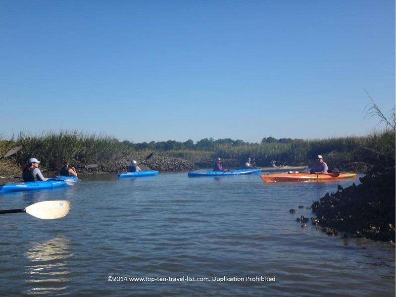 Kayaking in Hilton Head Island, South Carolina