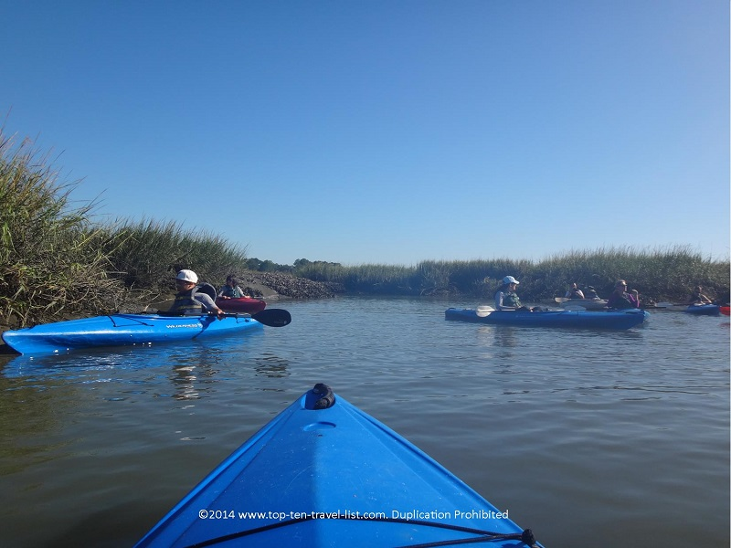 Kayaking in Hilton Head Island, South Carolina