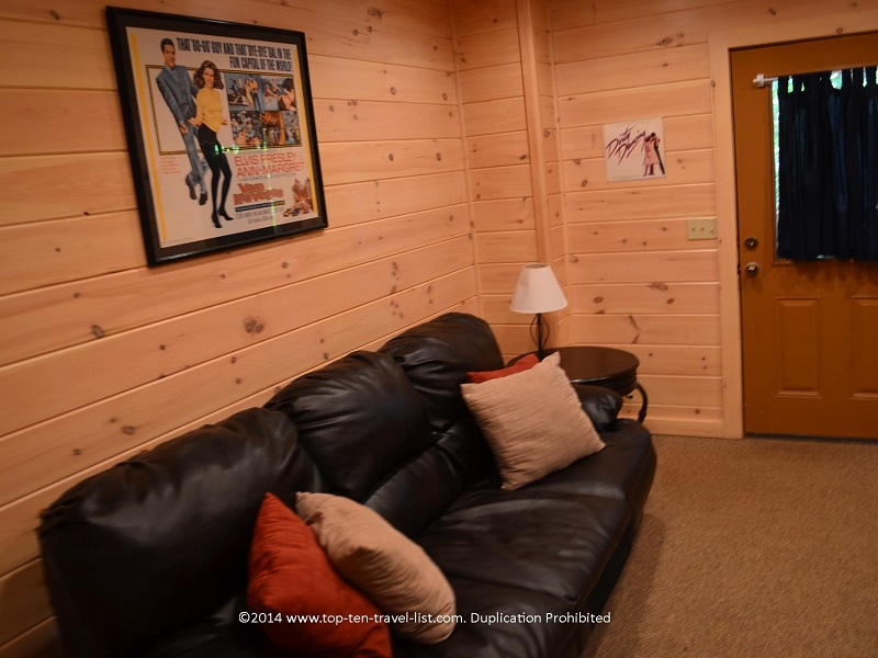 Movie room - Appalachian Promise - Mount Laurel Cabin Rentals - Blue Ridge, Georgia