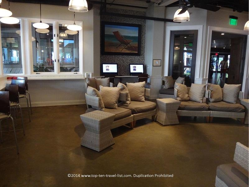 Palmetto Cafe coffeeshop in the Omni Hilton Head Oceanfront Resort - Hilton Head Island, South Carolina