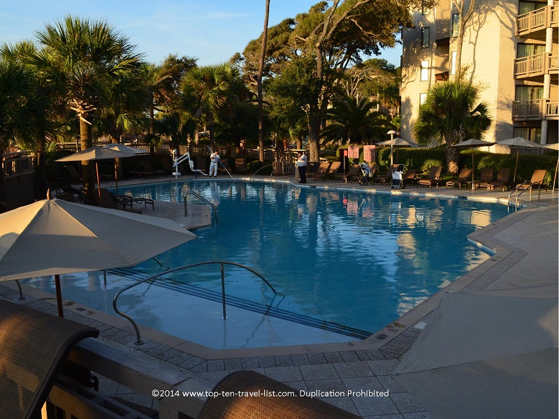 Adult's only pool at Omni Hilton Head Oceanfront Resort - Hilton Head Island, South Carolina