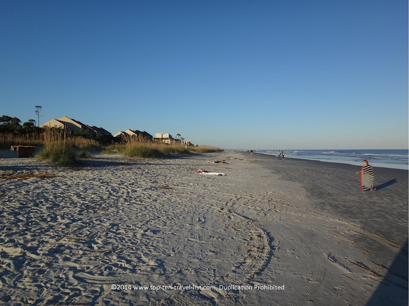 Beautiful Hilton Head Island beach - Omni Hilton Head Oceanfront Resort