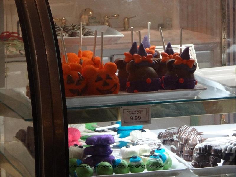 Halloween treats at Mickey's Not So Scary Halloween Party at the Magic Kingdom