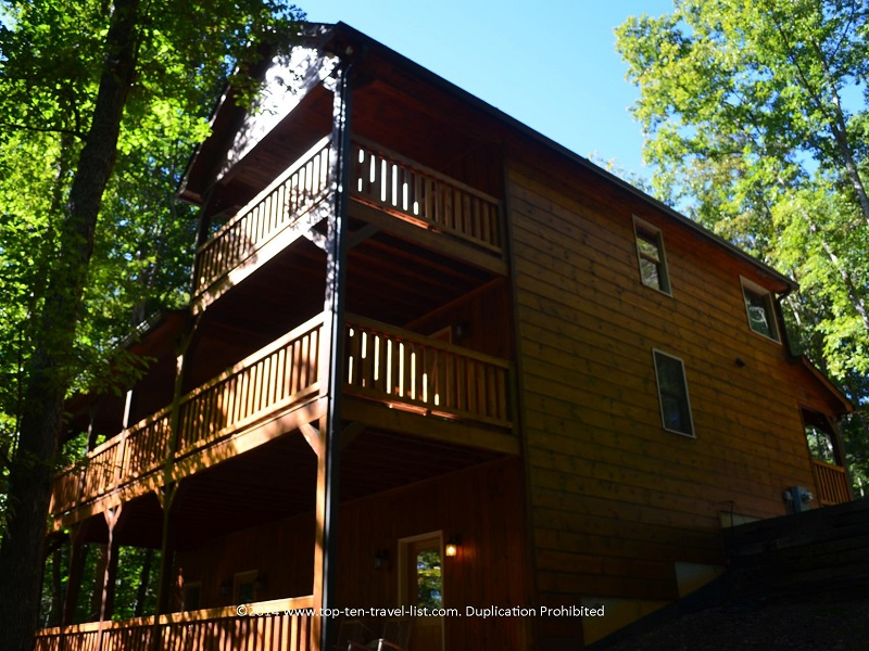 Beautiful Appalachian Promise cabin rental in Northern Georgia's Blue Ridge mountains