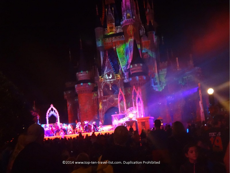 Villains Mix and Mingle show at Walt Disney World's Mickey's Not So Scary Halloween Party