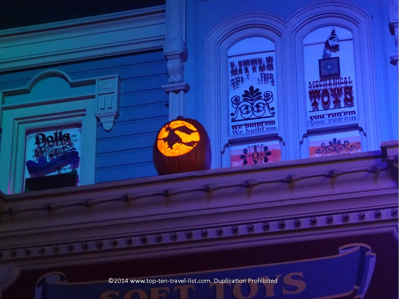 Witch Jack O'Lantern at Mickey's Not So Scary Halloween Party at the Magic Kingdom