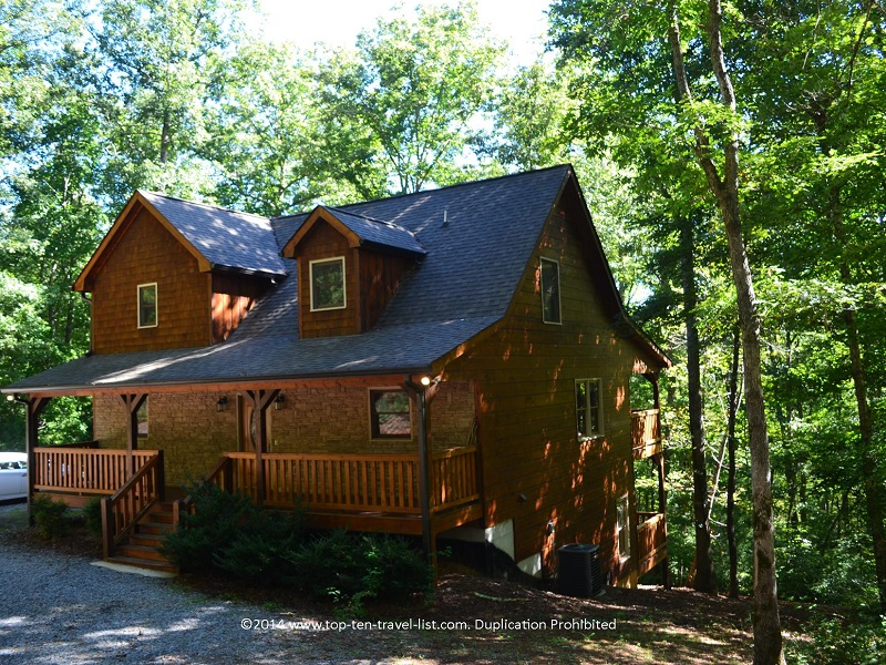 Mount Laurel cabin rental in Blue Ridge, Georgia